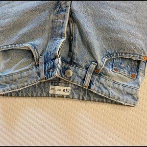 ZARA never worn Blue Wash Denim Jeans!!